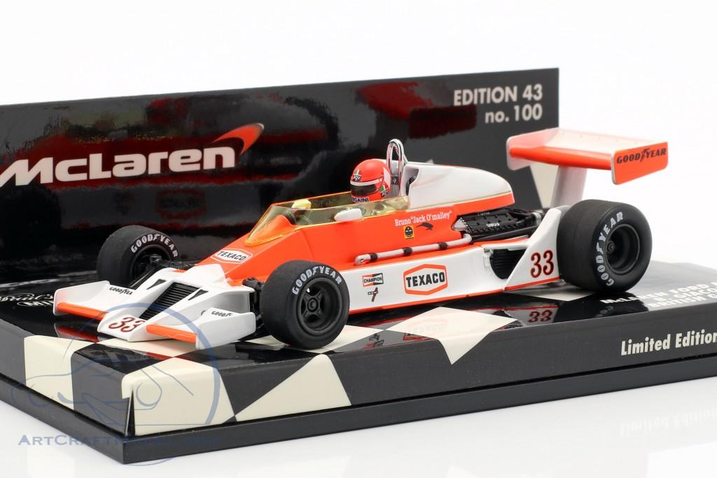 B. Giacomelli McLaren Ford M26 British GP 1978