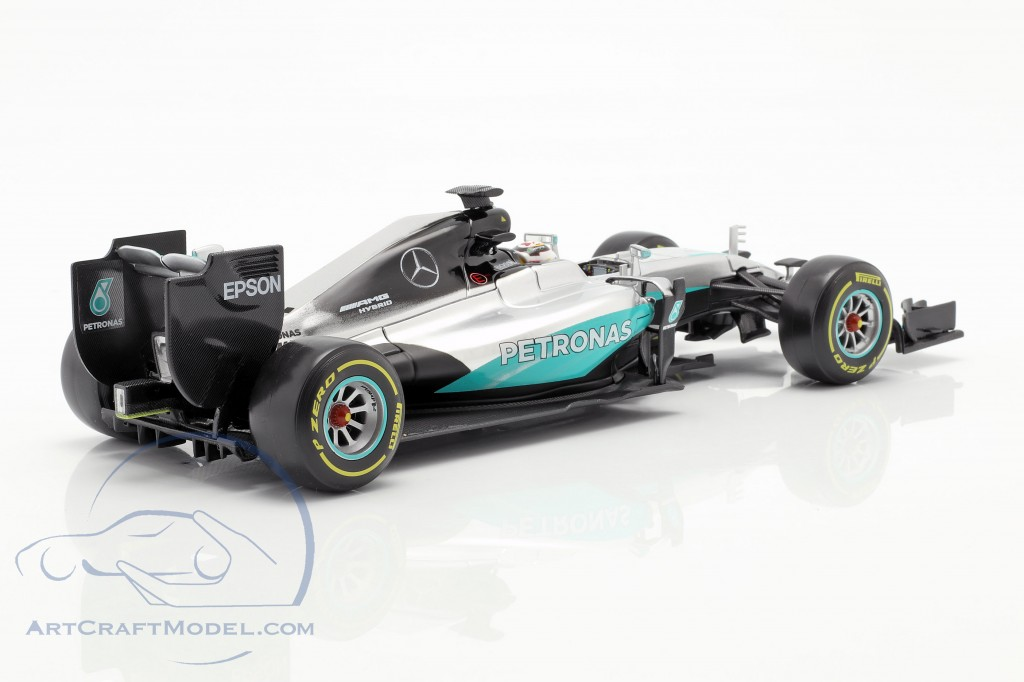 Lewis hamilton mercedes f1 w07 Hybrid #44 fórmula 1 2016 1:43 Bburago