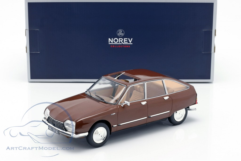 Citroen GS Pallas year 1978 brown