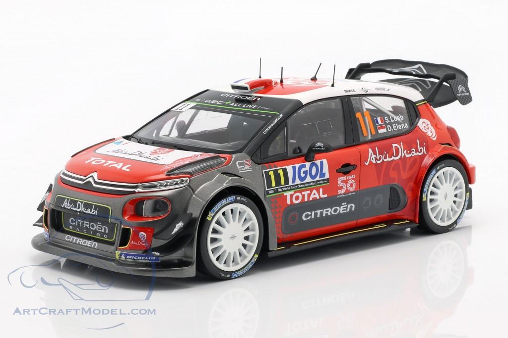 Citroen C3 WRC 2018 #11 Tour de Corse 2018 Loeb, Elena
