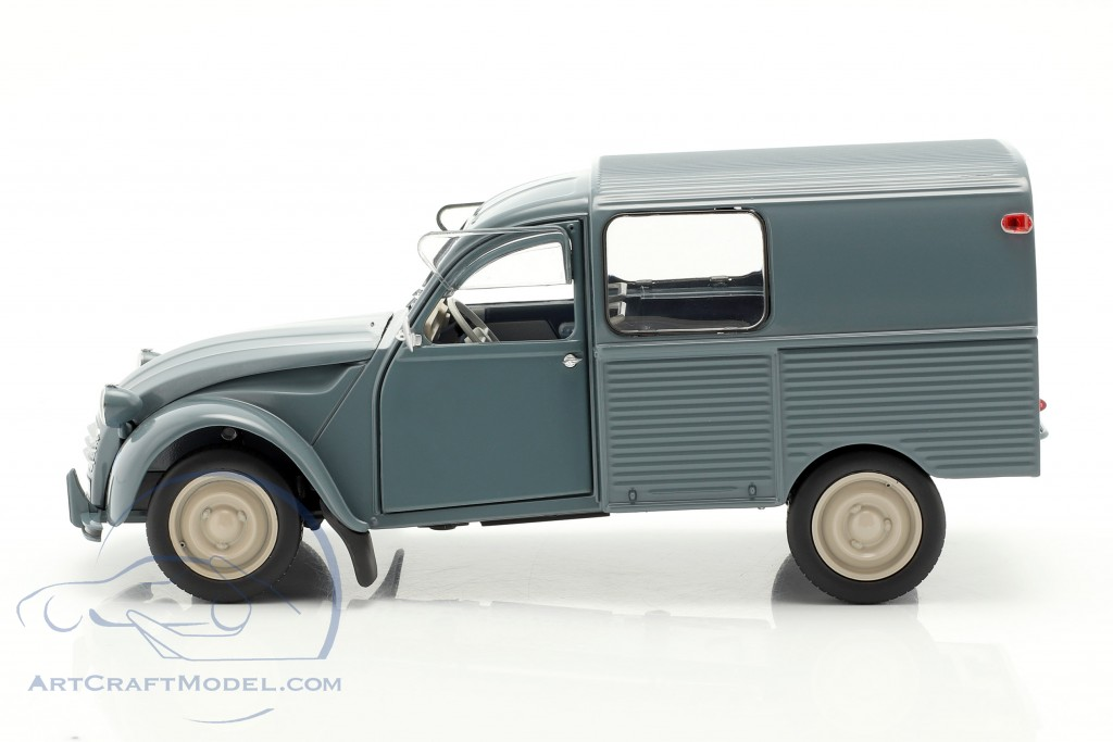 Citroen 2CV Fourgonette AK350 year 1966 blue