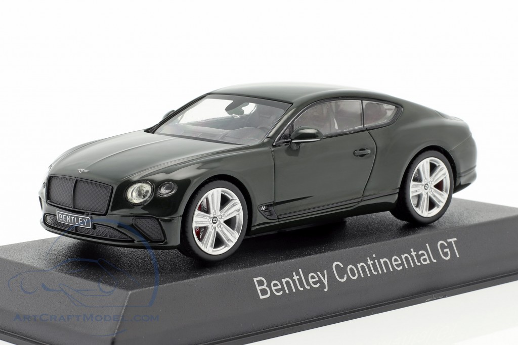 Bentley Continental GT year 2018 racing green
