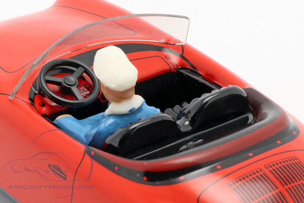 Porsche 356 TuWa Tin car red