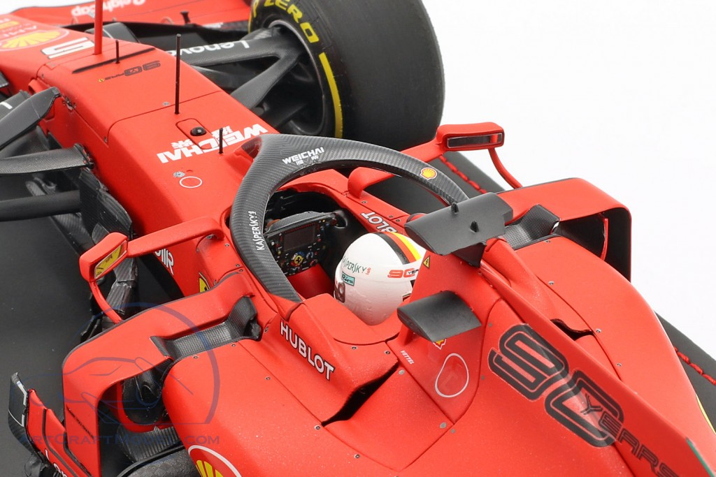 Sebastian Vettel Ferrari SF90 #5 4th Australian GP F1 2019 with showcase  BBR