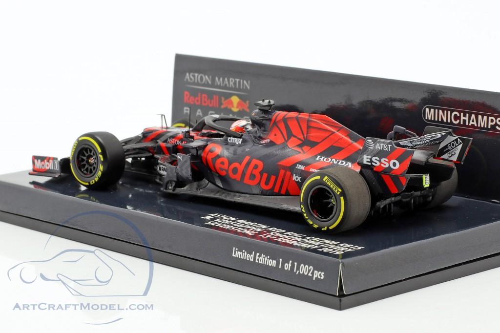 M. Verstappen Red Bull Racing RB15 #33 Silverstone Shakedown F1 2019