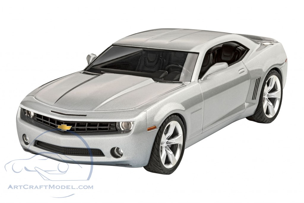Chevrolet Camaro Concept Car 2006 silver grey kit