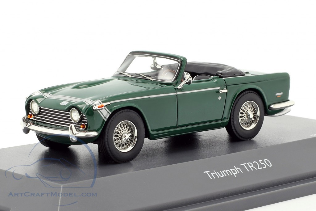 Triumph TR250 british racing green