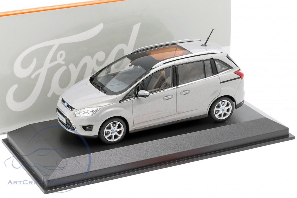 Ford Grand C-Max Year 2010 gray metallic