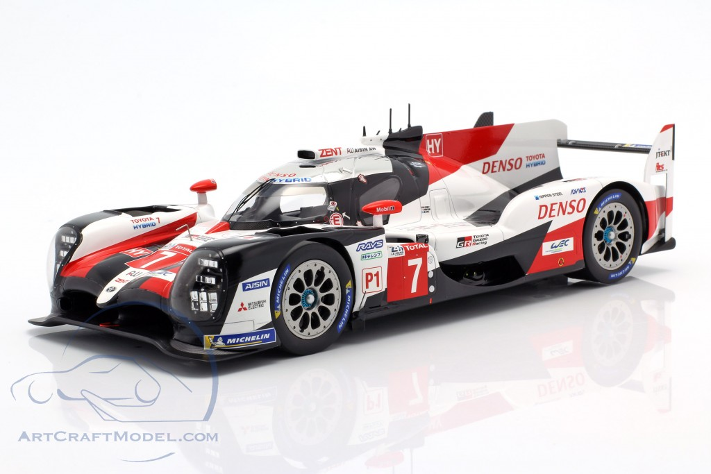 Toyota ts050 Hybrid 2nd 24h le mans 2019 gazoo racing Lopez 1:18 Spark 18s426