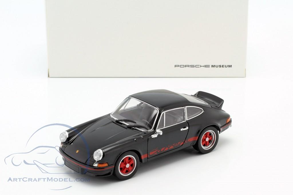 1:18 Welly Porsche 911 Carrera RS 1973 black//red
