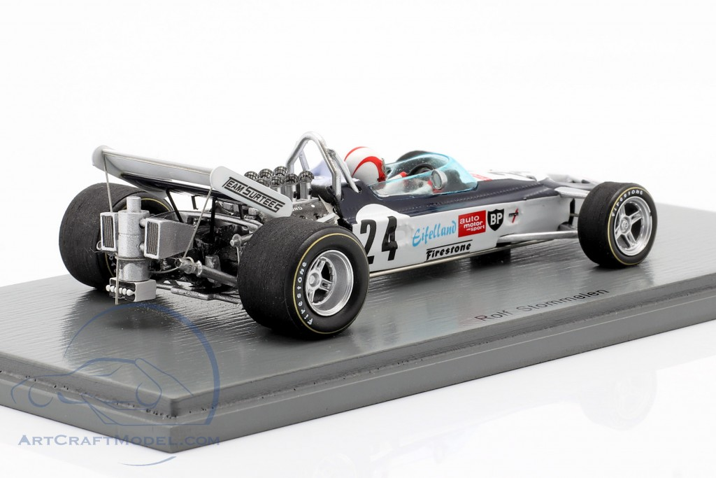 1:43 Spark Surtees TS9 GP Great Britain Stommelen 1971