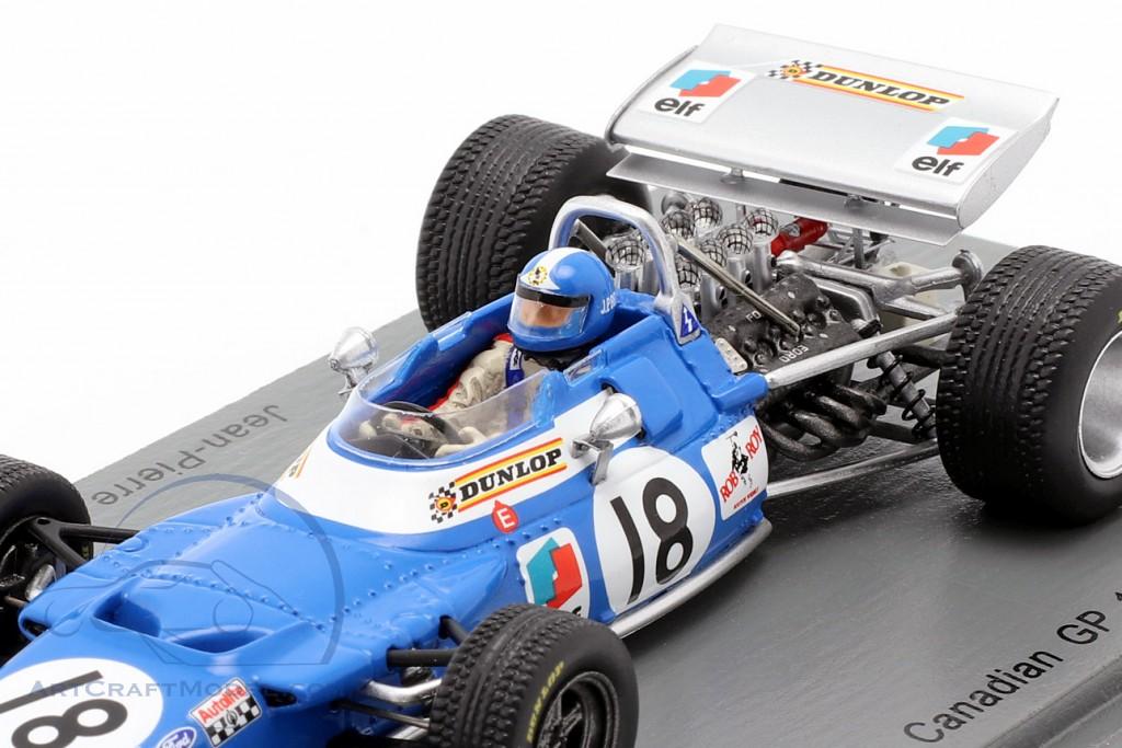 Jean-Pierre Beltoise Matra MS80 #18 4th Canadian GP formula 1 1969