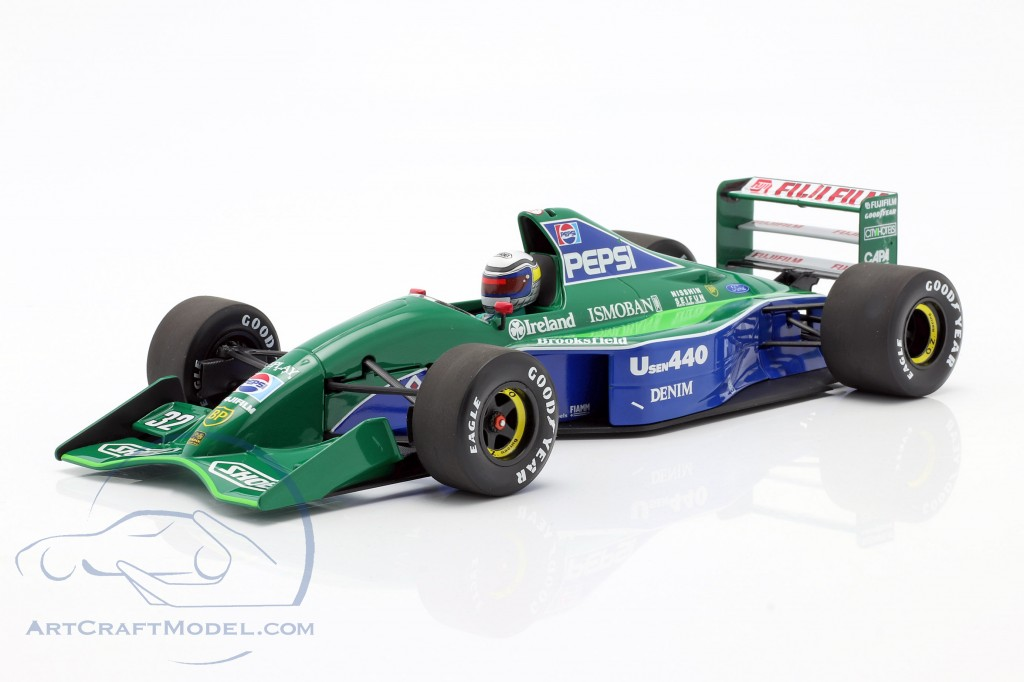Alessandro Zanardi Jordan 191 #32 Japanese GP formula 1 1991