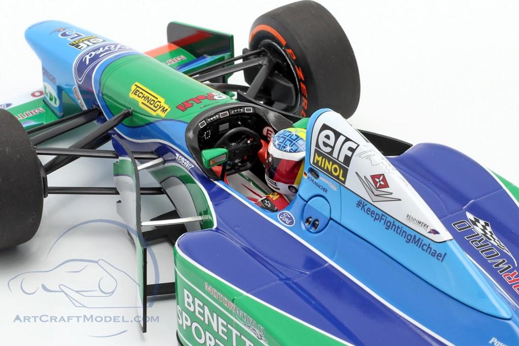 Mick Schumacher Benetton B194 #5 Demo Run GP Spa formula 1 2017