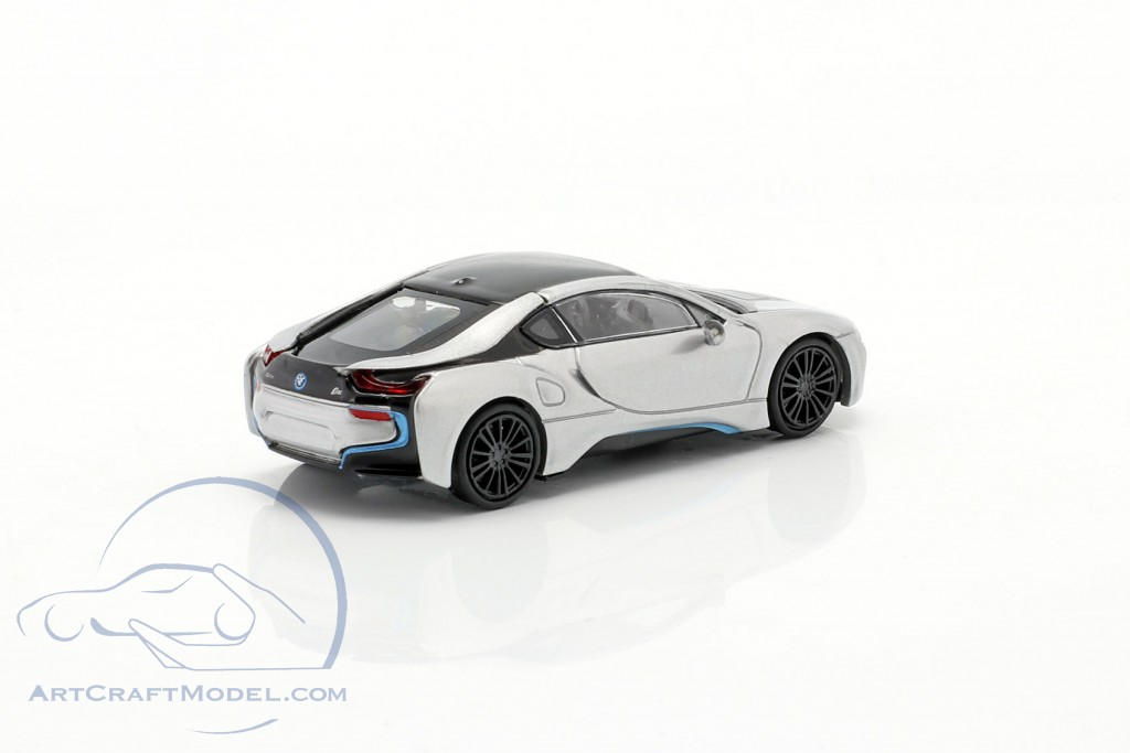 BMW i8 Coupe (I12) year 2015 silver