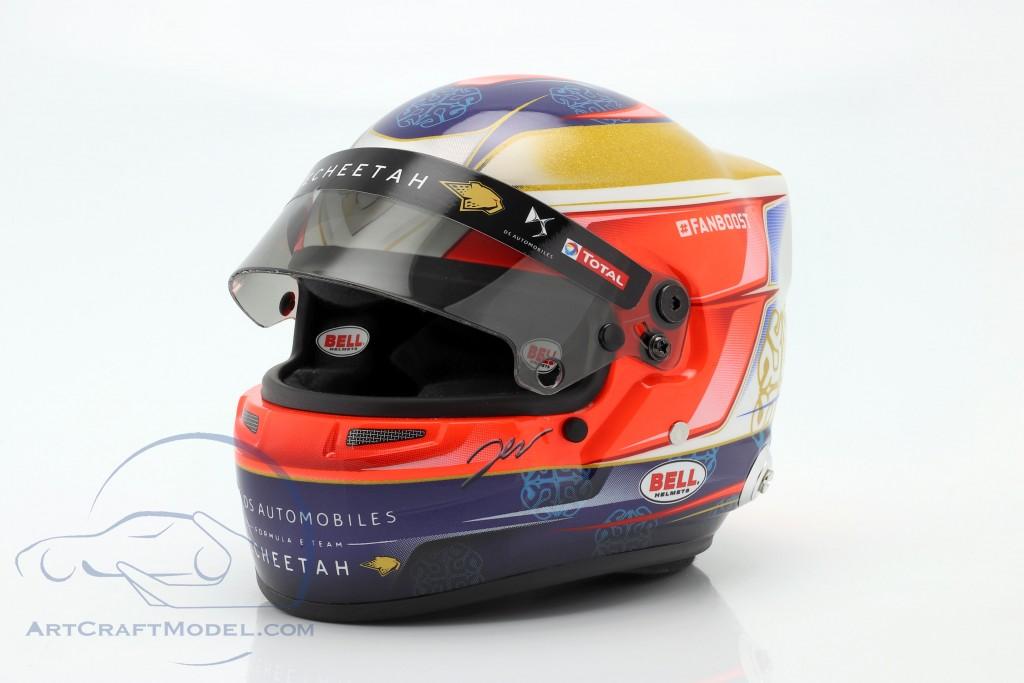 Jean-Eric Vergne DS Techeetah #25 formula E 2019 helmet