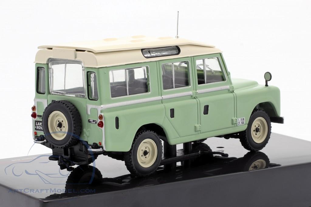 Land Rover Series II 109 Station Wagon 4x4 year 1958 light green / beige