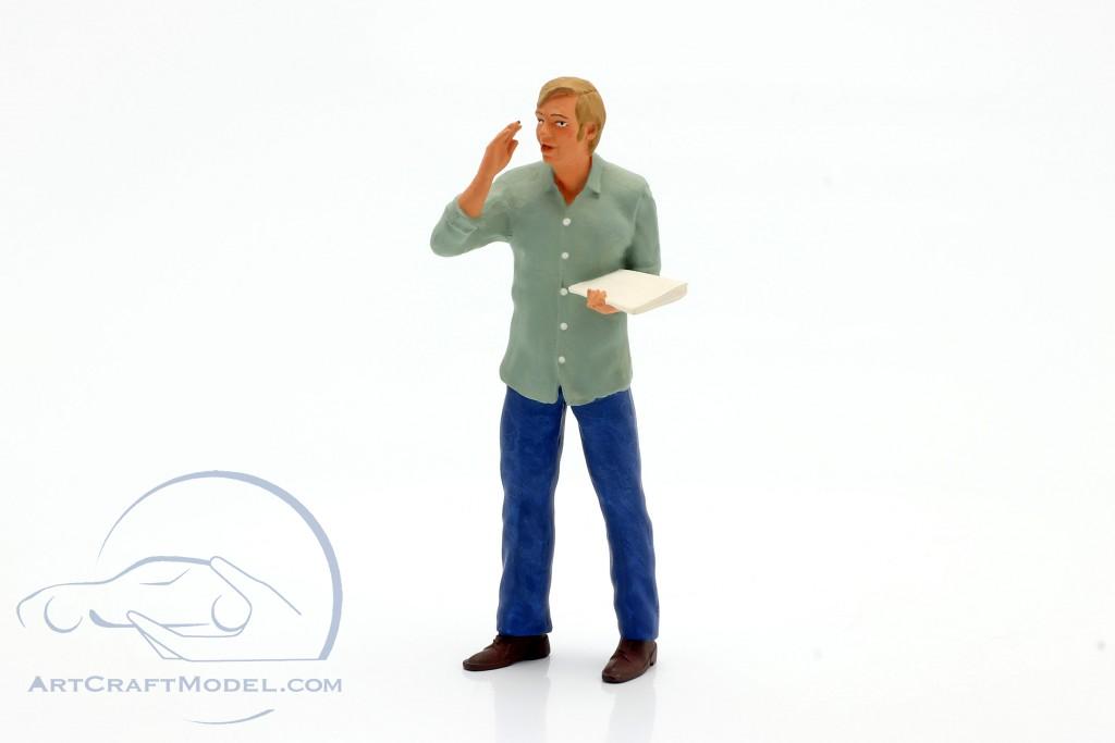 Figure Truck driver Günther standing