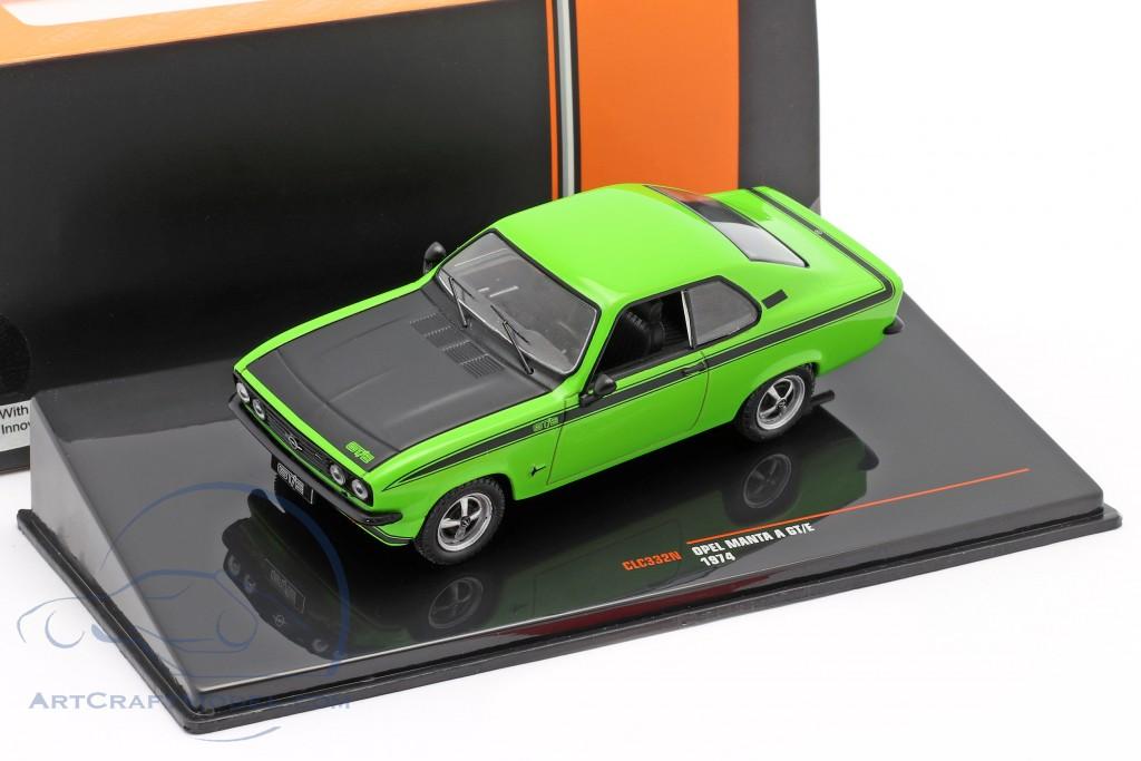 Opel Manta A GT/E year 1974 green / black