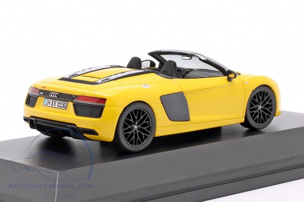 Audi R8 Spyder V10 vegas yellow