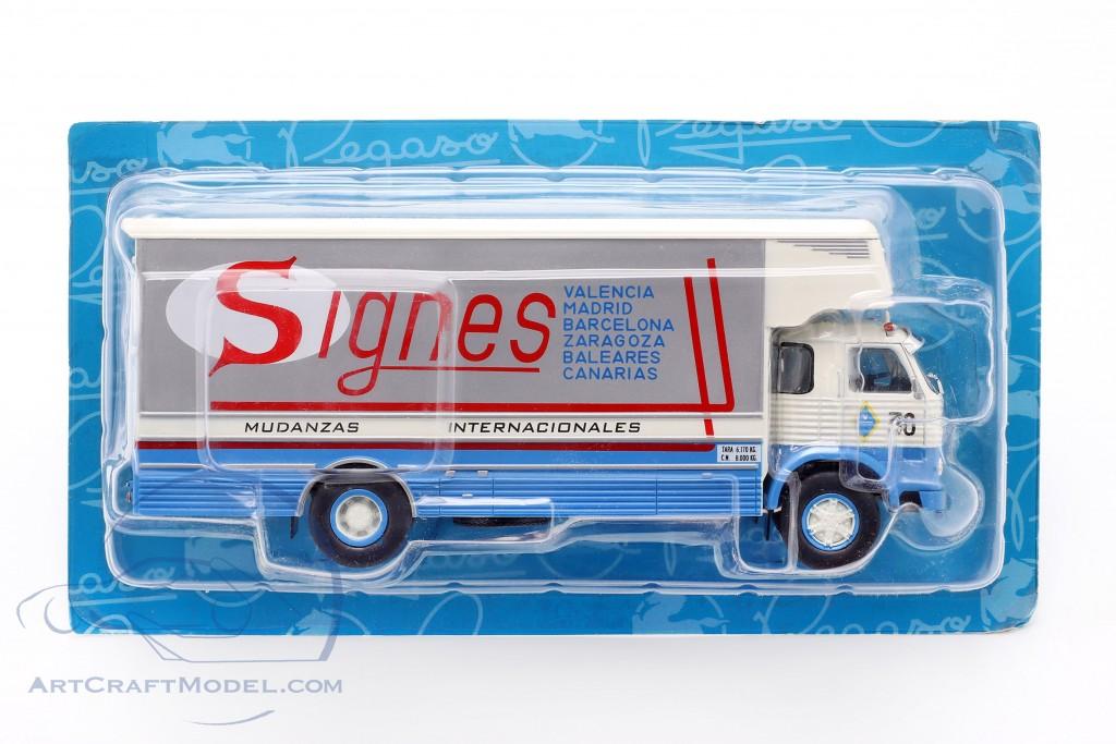 Pegaso 1065 L Europa Truck year 1970 blue / white / red