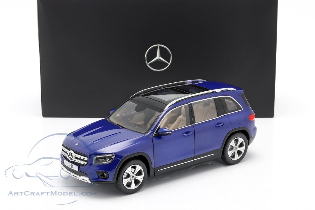 Mercedes-Benz GLB (X247) year 2019 galaxy blue