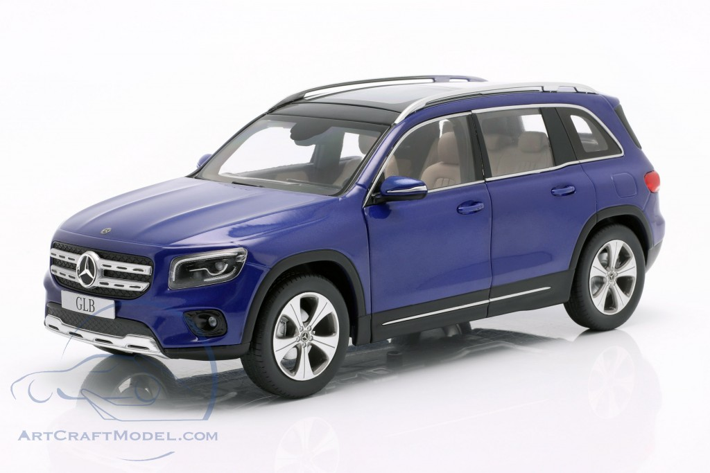 Mercedes-Benz GLB (X247) year 2019 galaxy blue