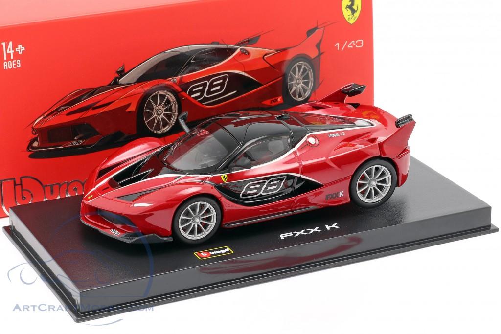 Ferrari Fxx K 88 Red Black Signature 15636906r Ean 4893993369065