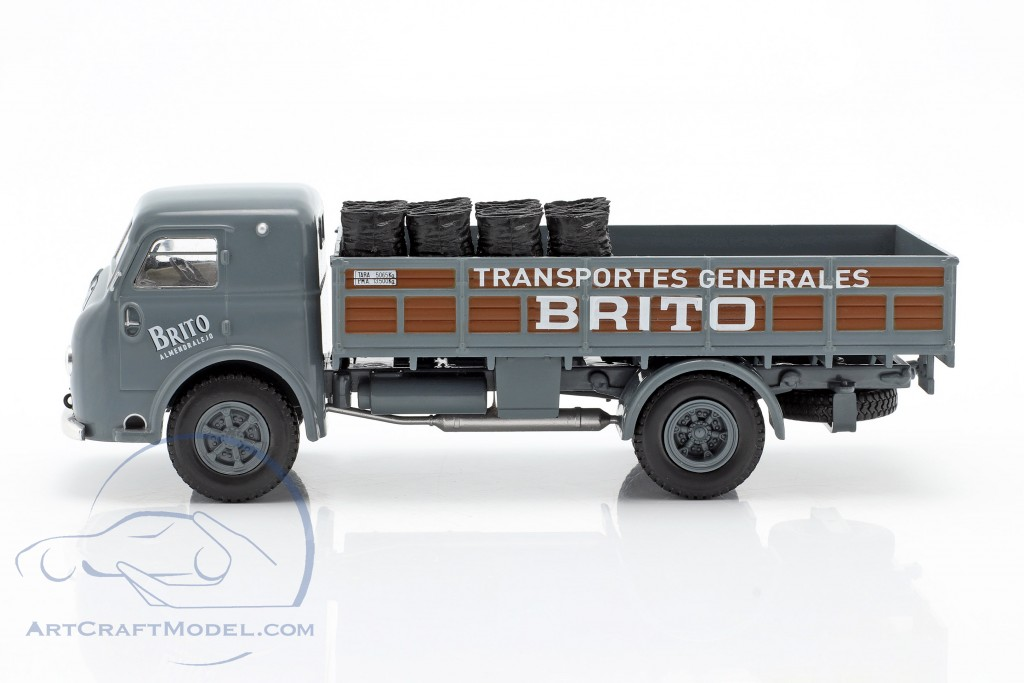 Pegaso I Flatbed truck Brito year 1946 grey / brown