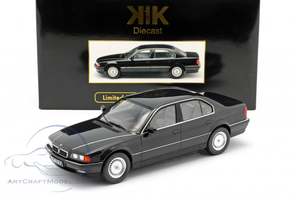 BMW 740i E38 1.Series year 1994 black metallic
