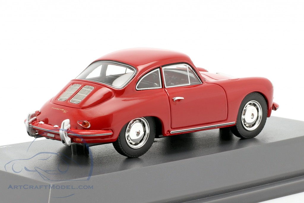 Porsche 356 SC Coupe year 1961-1963 red