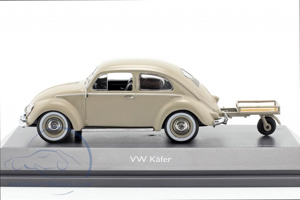 Volkswagen VW Pretzel beetle with Auto Porter beige