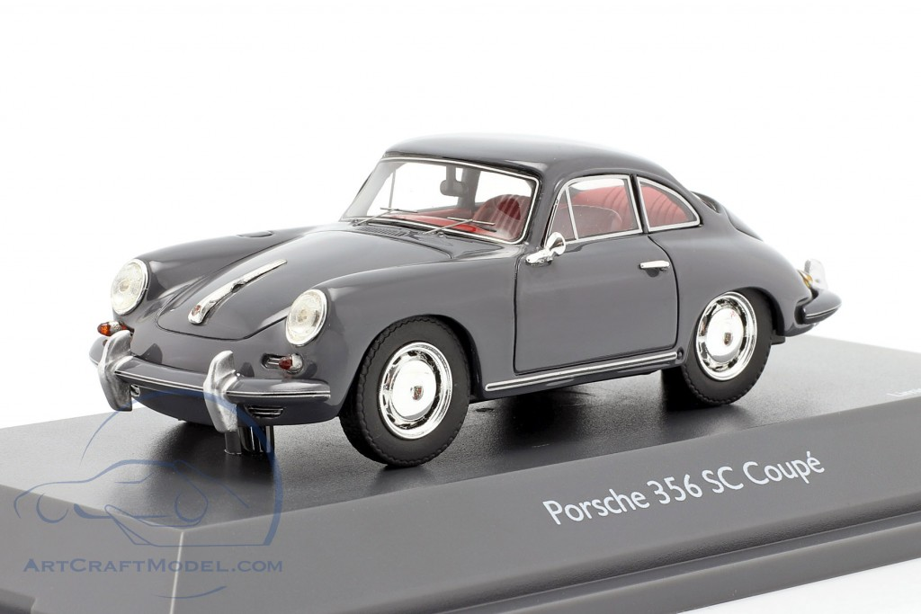 Porsche 356 SC Coupe year 1961-1963 grey