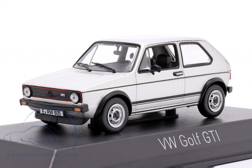 Volkswagen VW Golf GTI year 1976 silver