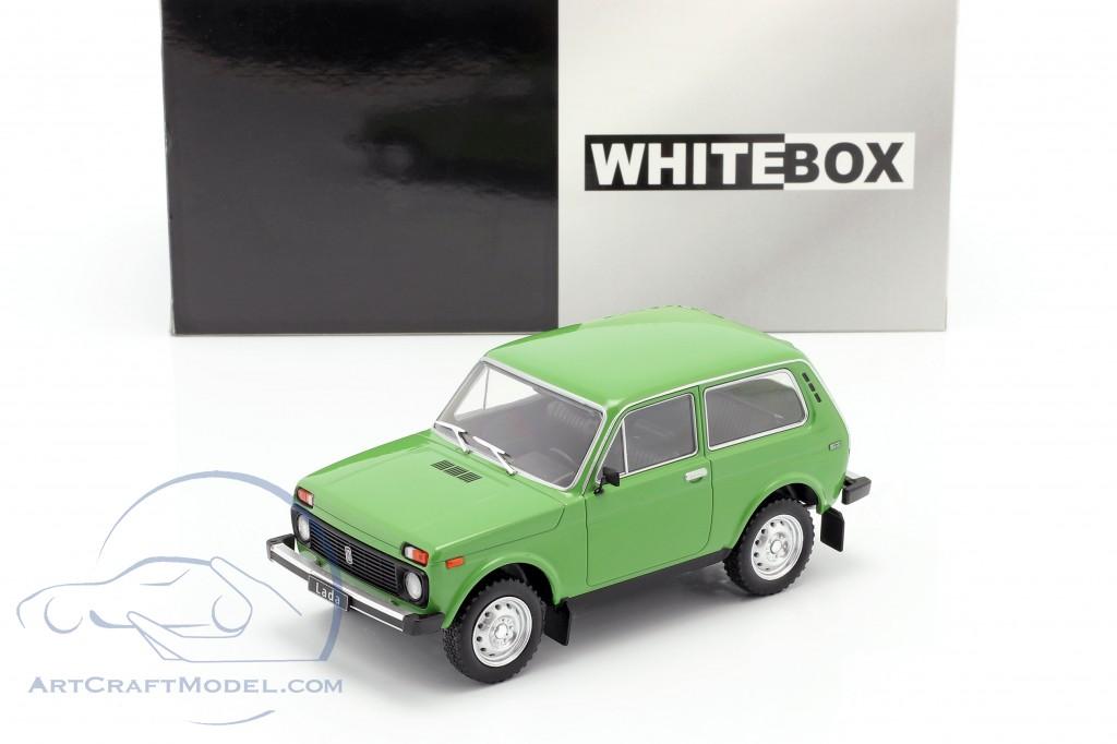 1:24 White Box Lada Niva green