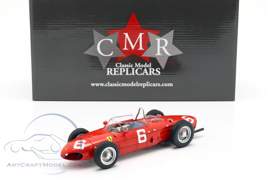 Richie Ginther Ferrari 156 Sharknose #6 3rd Belgian GP formula 1 1961
