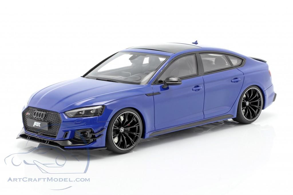 Audi ABT RS5-R Sportback year 2019 nogaro blue  GT-Spirit