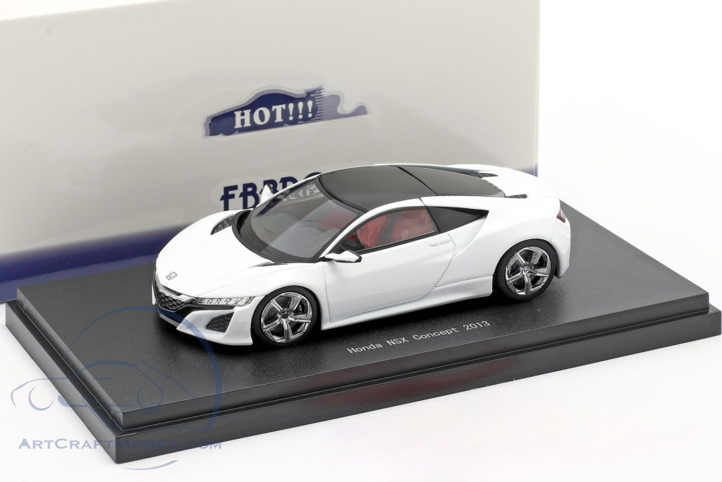 Honda NSX Concept Car 2013 pearl white