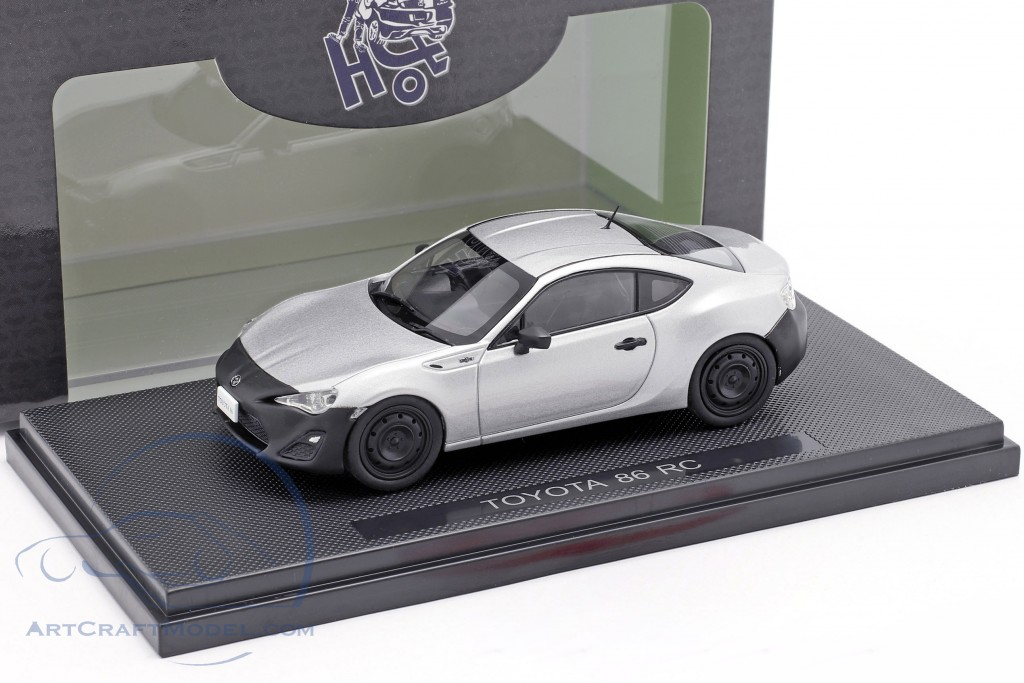 Toyota 86 RC sterling silver metallic