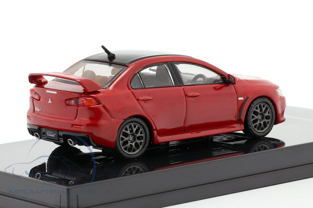 Mitsubishi Lancer Evolution X Final Edition rally red