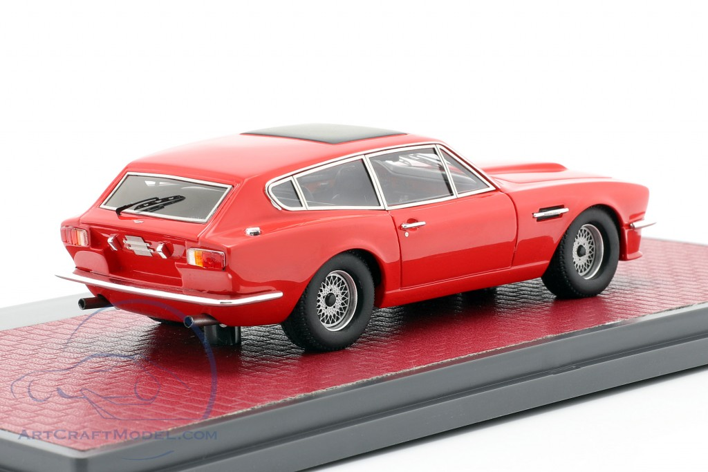 Aston Martin V8 Shooting Brake year 1986 red