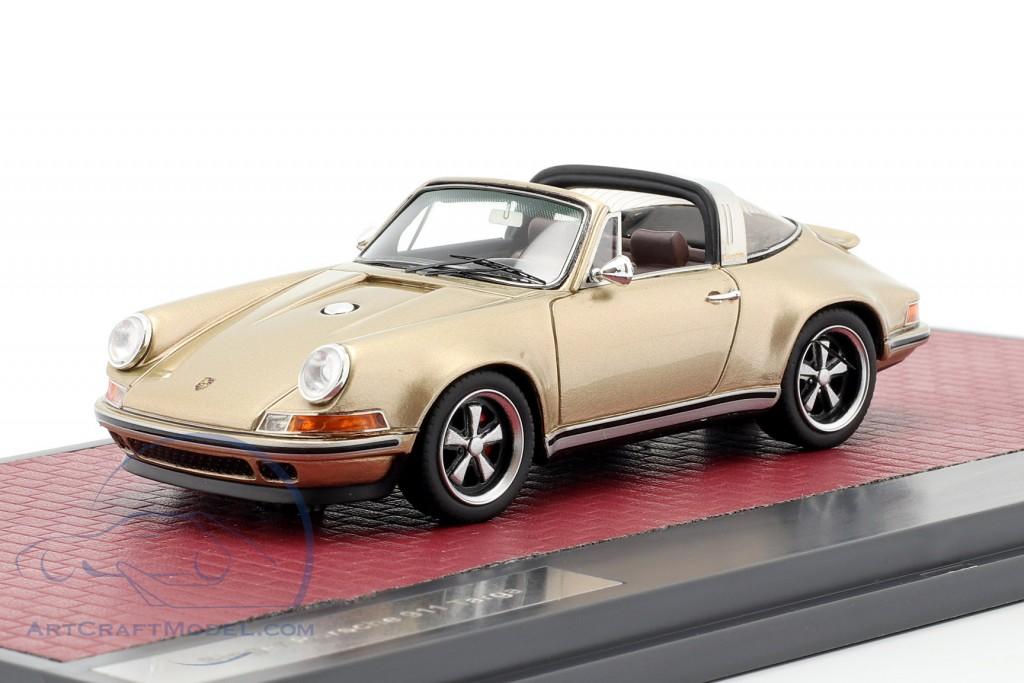 Porsche 911 Targa Singer Design 2014 gold metallic