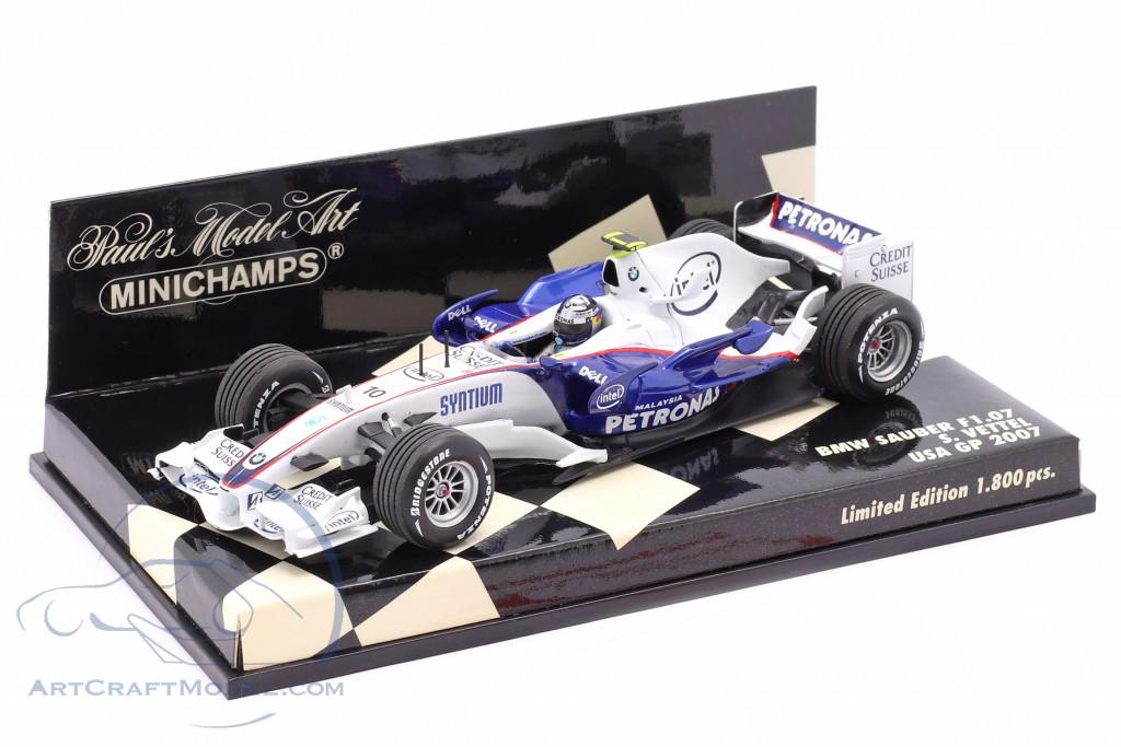 Sebastian Vettel BMW Sauber F1.07 #10 USA GP 2007