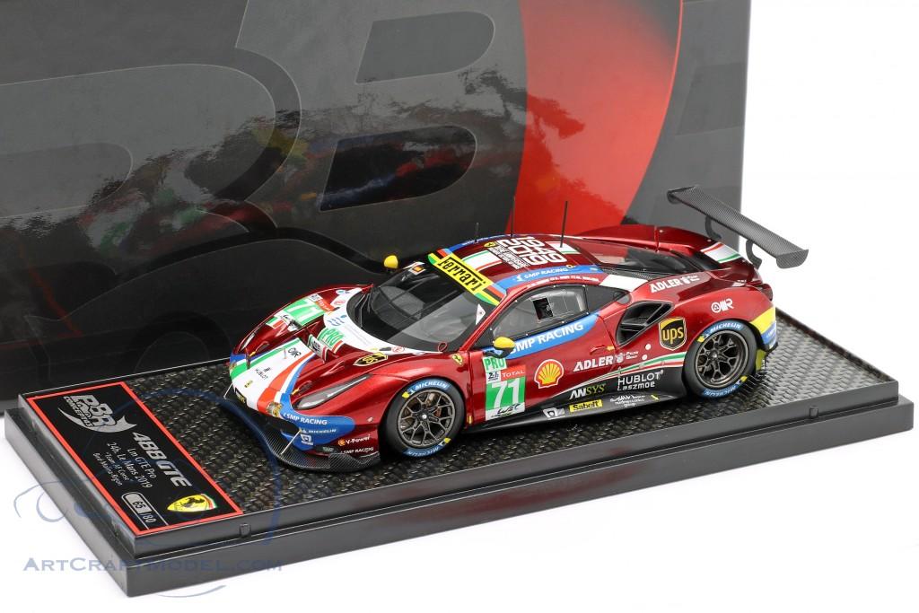 Ferrari 488 GTE #71 24h LeMans 2019 Rigon, Bird, Molina  BBR