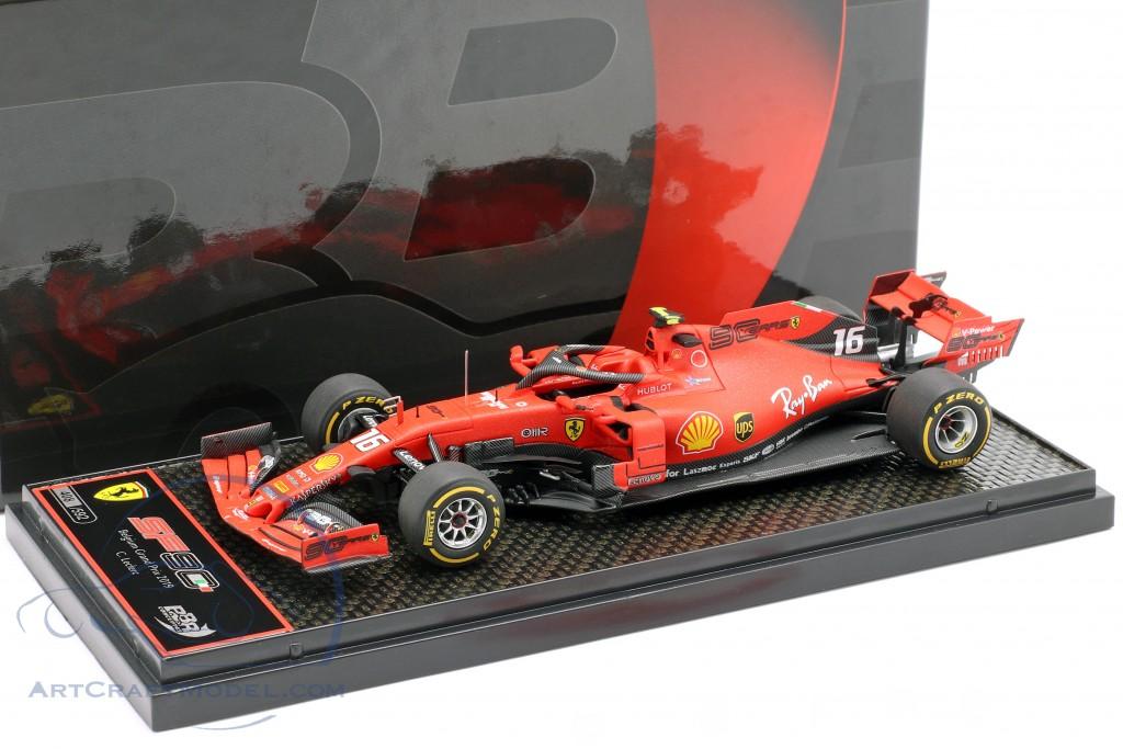 Charles Leclerc Ferrari SF90 #16 winner Belgian GP formula 1 2019  BBR
