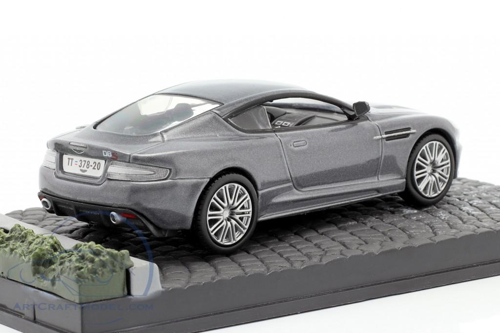Aston Martin DBS James Bond movie Casino Royale gray Car