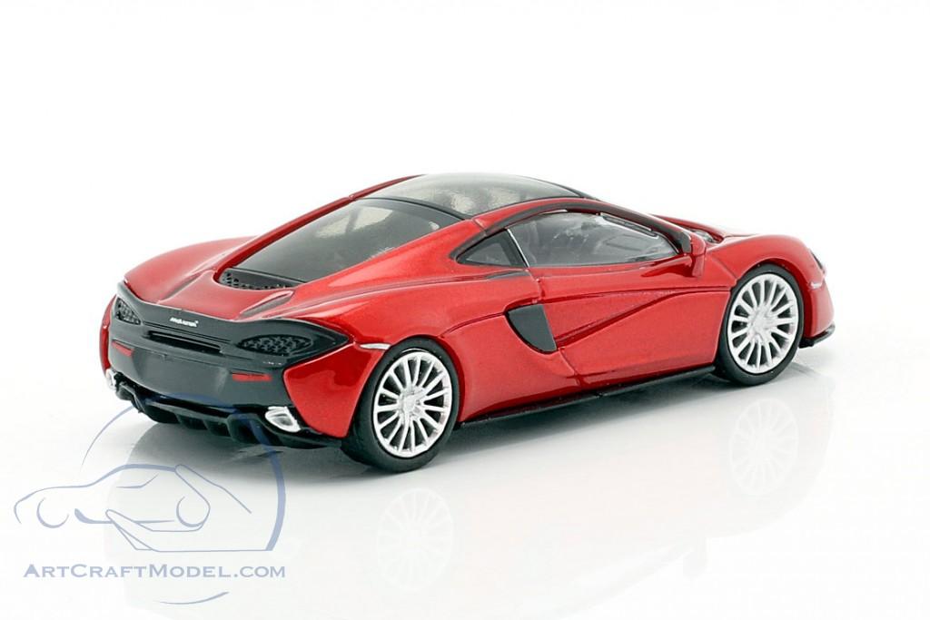 #870154522 Volcano Red 1:87 Minichamps McLaren 570 GT