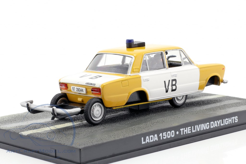 Lada 1500 James Bond Movie Car of the Living Daylights