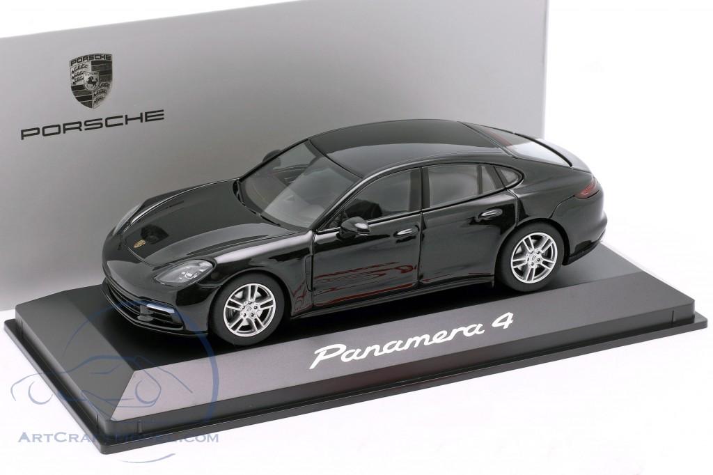 Porsche Panamera 4 2 Gen Year 2017 Black Metallic Wap0207100g