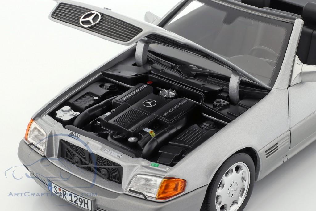 Mercedes-Benz 500 SL (R129) Roadster 1989-1995 brilliant silver metallic
